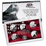 2008 State Quarter Silver Proof Set