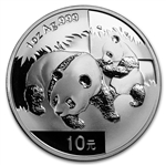 2008 Chinese Silver Panda Coins