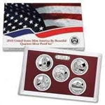 2010 America the Beautiful Silver Proof Set