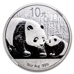 2011 Chinese Silver Panda Coins