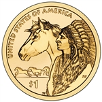 2012-P Native American Dollar Trade Routes of the 17th Century Coin