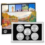 2013 National Park Quarter Silver Proof Set
