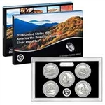2014 National Park Quarter Silver Proof Set