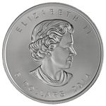 2014 Canadian 1 oz. Silver Maple Leaf