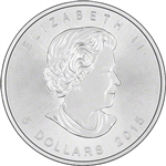 2015 Canadian Maple Leaf Silver Coins
