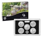 2016 National Park Quarter Silver Proof Set