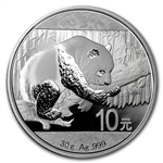 2016 Chinese Silver Panda Coins