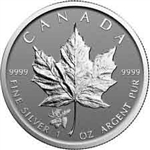 2017 Canadian Maple Leaf Silver Coin Moose Privy