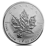 2017 Canadian Maple Leaf Silver Coin 150th Anniversary