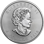2018 Canadian Maple Leaf Silver Coins