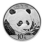 2018 Chinese Silver Panda Coins