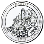 America the Beautiful Quarters Acadia