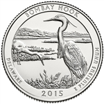 2015-D Bombay Hook National Park Quarter