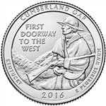 2016-D Cumberland Gap National Park Quarter