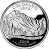 Colorado State Quarter 2006-D