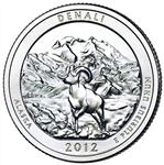 2012-S Denali America the Beautiful Quarter