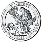 2012-S El Yunque America the Beautiful Quarter