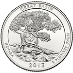 America the Beautiful Quarters Great Basin