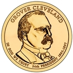 Grover Cleveland Presidential Dollar Roll 2nd Term