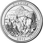 America the Beautiful Quarters Glacier