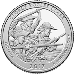 George Rogers Clark Proof Quarter