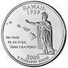 Hawaii State Quarter 2008-P