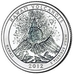 2012-S Hawaii Volcanoes America the Beautiful Quarter
