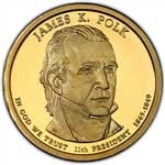 2009-P James Polk Presidential Dollar