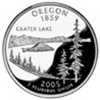 Oregon Proof State Quarter 2005-S