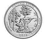 2018-P Pictured Rocks Clark National Park Quarter
