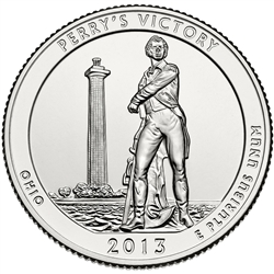Perry's Victory National Park Quarter Philadelphia Mint