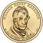 2009-D William Harrison Presidential Dollar