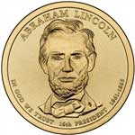 Abraham Lincoln Presidential Dollar Roll 10/10