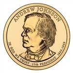 2011-P Andrew Johnson Presidential Dollar