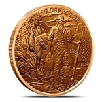 Prospector Design 1 oz Copper Rounds