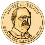 2012-P Grover Cleveland 1st Term Presidential Dollar