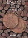 Lincoln Penny Coin Folders 1909-1940