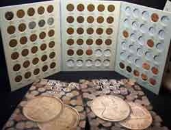 Wheat Back Penny Set
