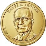 Harry S. Truman Presidential Dollar Coins