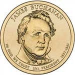 2010-D James Buchanan Presidential Dollar