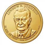 Lyndon Johnson Presidential Dollar Coins