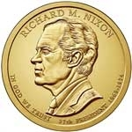 Richard Nixon Presidential Dollar Coins