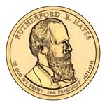 2011-D Rutherford B. Hayes Presidential Dollar