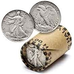 90% Walking Liberty Half Dollar Roll