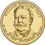 2013-P William Taft Presidential Dollar