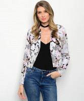 115-2-3-J1336130 GRAY PINK BLACK JACKET 1-2-2