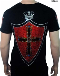Showstopper Vatican Cross Shield Royal Blood