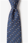 Tie: Knot Enough Sailing (Navy Blue)