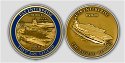 USS Enterprise Coin Legacy and Decommissioning