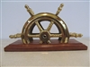 Letter Holder: Ship's Wheel